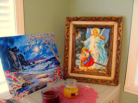 Display of My Paintings by Amy Bradley