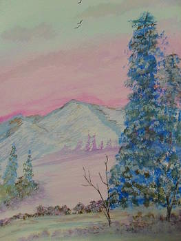 Distant Mountains by Ginny Youngblood