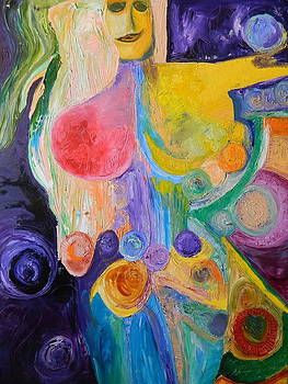 Divine Feminine 1 by Kat Kemm
