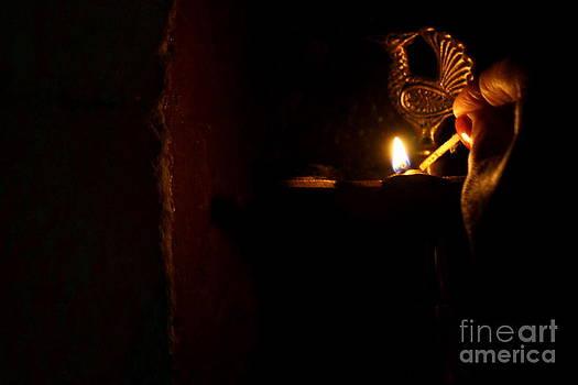 Diwali by Vishakha Bhagat