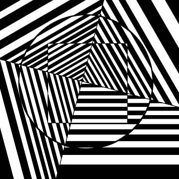 Dizzy Optical Illusion by Casino Artist