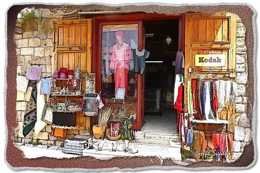 DO-00480 Shop in Old Byblos by Digital Oil