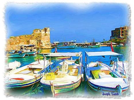 DO-00524 Byblos Old Port by Digital Oil
