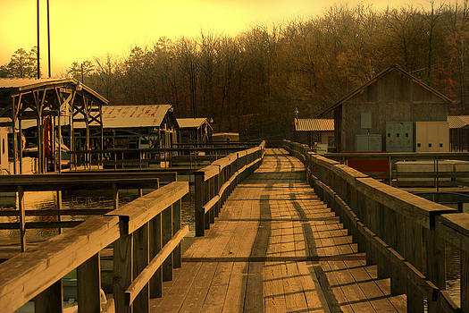 Nina Fosdick - Dock Boardwalk