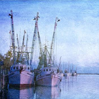 Dockside on the Darien by Christine Annas