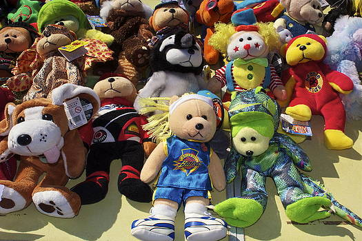 Dolls and Teddys by Michael Clarke JP