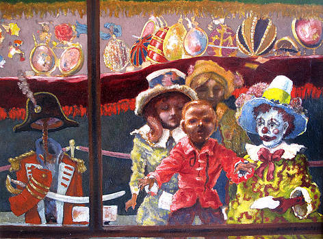 Dolls in the Window by Wendell Upchurch