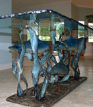 Dolphin Table by John Townsend