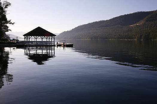 Donner Lake Boathouse by Craig Sanders