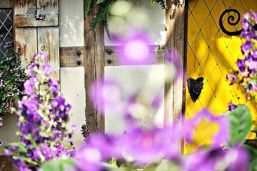 Door Behind The Secret Garden by Floyd Menezes