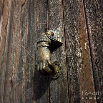 BERNARD JAUBERT - Door handle in the shape of a hand