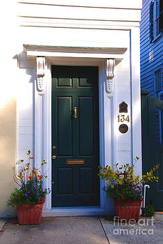 Susanne Van Hulst - Door Nr 134 in Charleston SC