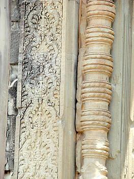 Roy Foos - Doorway Stonework Angkor Wat