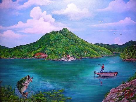 Dos Boca Lake by Jose Lugo