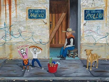 Dos Espantos by Enrique Alcaraz