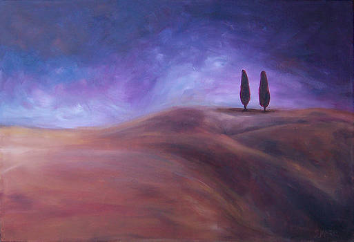 Dos Trees by Susan Moore