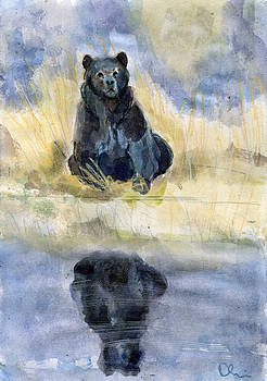 Double Bear by Lelia Sorokina