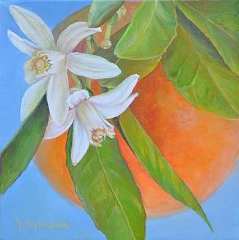 Double Fleur by Muriel Dolemieux