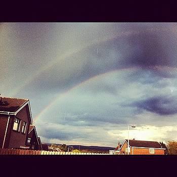 Double Rainbow! #rainbow #pretty by Orla O'Neill