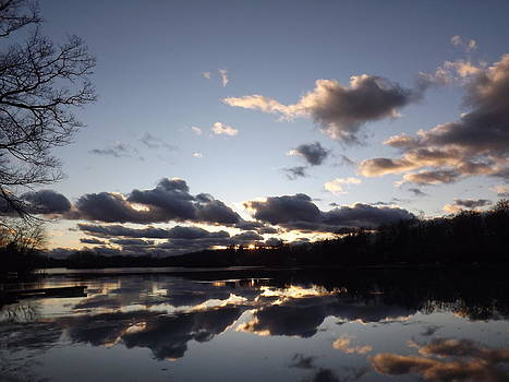 Double Vision Clouds by Abe Fogle