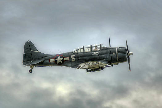 Douglass SBD Dauntless  by Gerry Mann