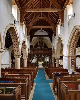 Down Ampney All Saints Church in Gloucestershire by Nick Temple-Fry