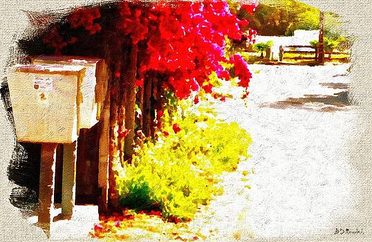 Down by the Mailboxes by Brian D Meredith