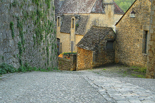 Down the Lane in Beynac 5 by Greg Matchick