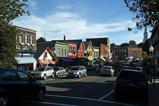 Robert Anschutz - Downtown Camden Maine