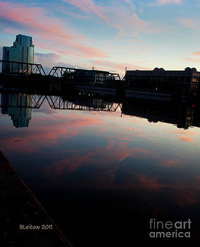 Downtown GR Sunset by Brenda Leitow