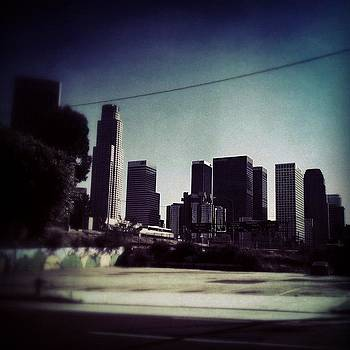Downtown La From Beverly...while by Loghan Call