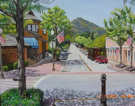 Downtown Morgan Hill by First Street by Lorna Saiki