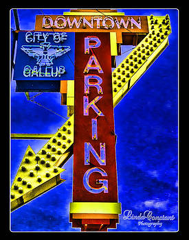 Downtown Parking by Linda Constant