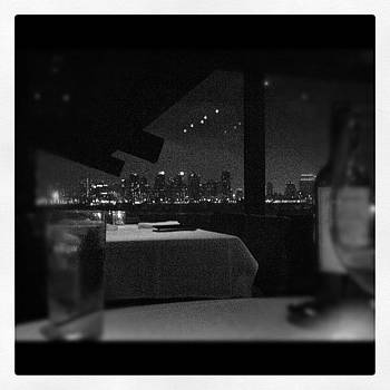 Downtown San Diego -- View From Dinner by Jessica Jaco