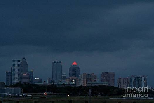 Downtown Tampa by April Wietrecki Green