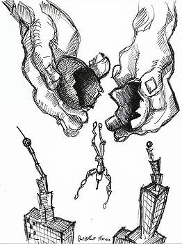 Jon Baldwin  Art - Downward