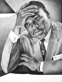 Dr. Martin Luther King by Elizabeth Scism