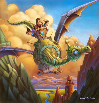 Dragon Contraption by Anne Wertheim
