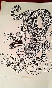Dragon by Yara Da Silva-Heying