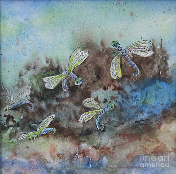 Dragonflies by Joan Putnam