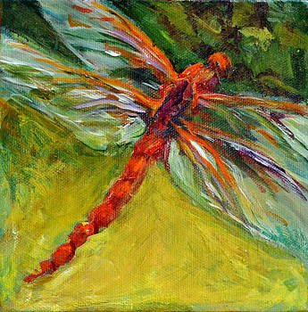 Dragonfly in Amber by Nanci Cook
