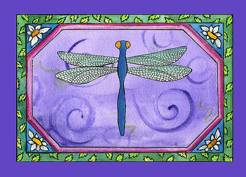 Dragonfly One by Pamela  Corwin