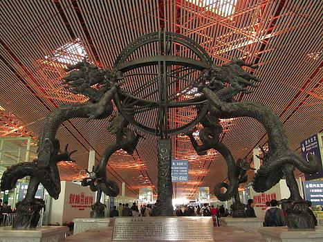 Alfred Ng - Dragons at Beijing Airport