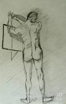 Caroline Street - Drawing Class. Male
