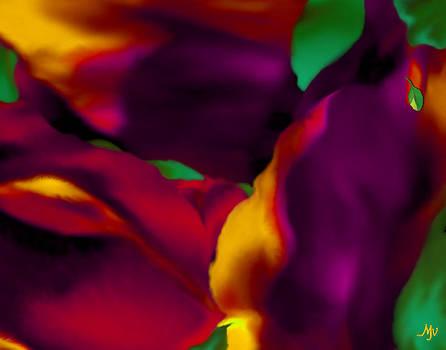 DREAM GARDENS - Tulip Petals - Shimmering Brights by Mathilde Vhargon