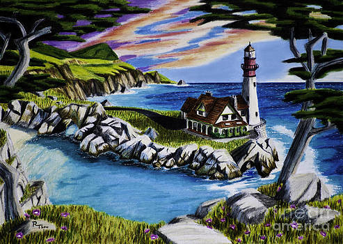 Dream Lighthouse by Robert Thornton