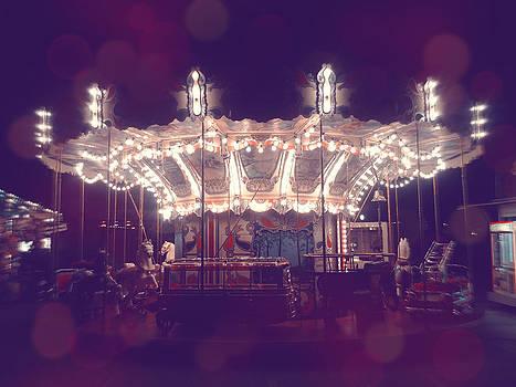 Dreamy Carousel by Kelsey Horne