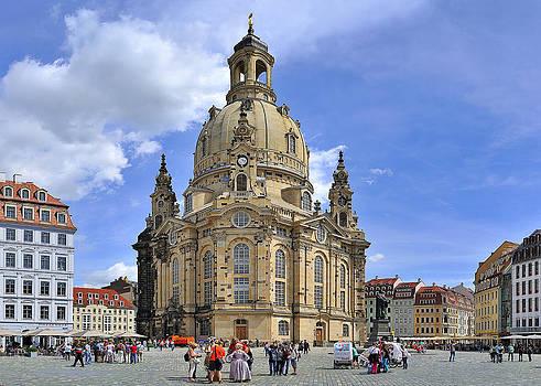 Dresden Frauenkirche by Travel Images Worldwide