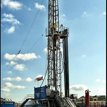 Drilling For Gas by Will Lopez