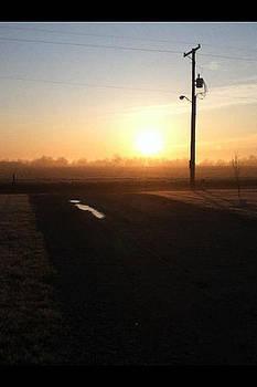 Drive Way Sunrise by Emma Sechrest